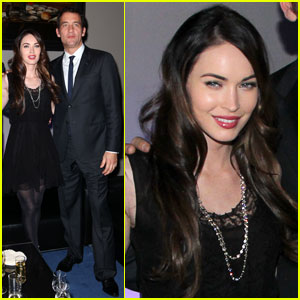 Megan Fox: Vertu Launch Party With Clive Owen!