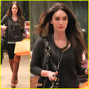 Megan Fox: Madison Boutique Visit!