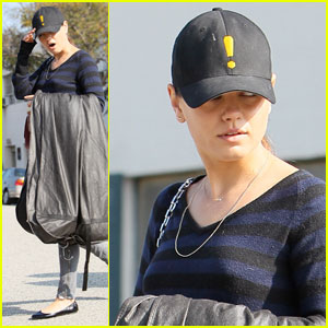 Mila Kunis Gets Ready for Marine Corps Ball?