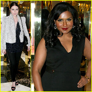 Mindy Kaling: Tory Burch Book Launch!