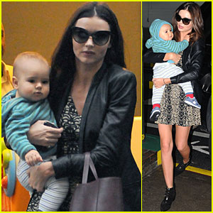 Miranda Kerr &#038; Flynn: Dinner in NYC!