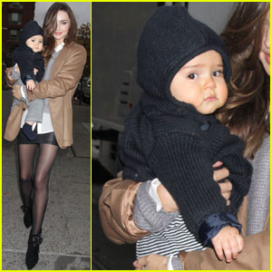 Miranda Kerr Loves Winters in NYC