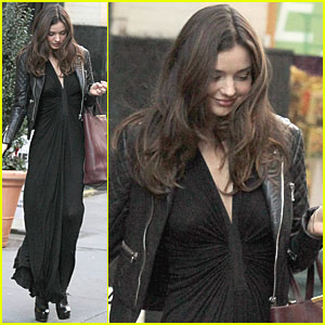 Miranda Kerr Taping Victoria's Secret Fashion Show This Week