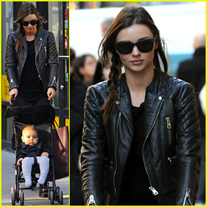 Miranda Kerr: Saturday Stroll with Flynn!