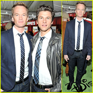 Neil Patrick Harris: 'Muppets' Premiere with David Burtka!