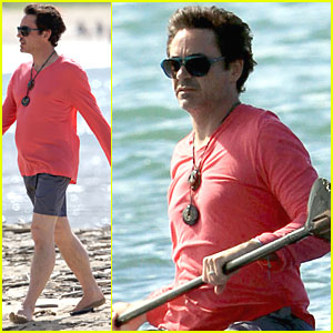 Robert Downey, Jr.: Hawaiian Vacation with Wife Susan