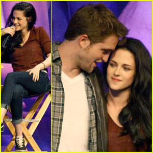 Robert Pattinson & Kristen Stewart: 'Twilight' Convention!