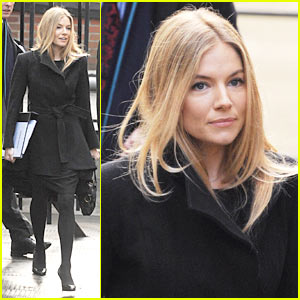 Sienna Miller Gives Evidence to Leveson Inquiry