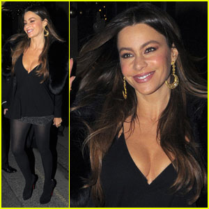 Sofia Vergara: 'Feliz Thanksgiving' from London!