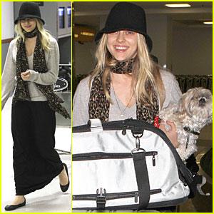 Teresa Palmer: LAX Airport Arrival
