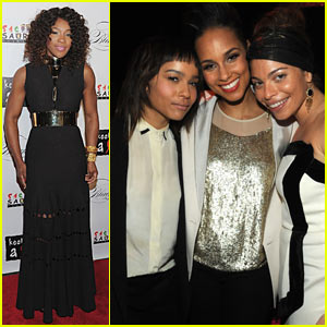 Alicia Keys & Zoe Kravitz: 'Keep A Child Alive' Black Ball!