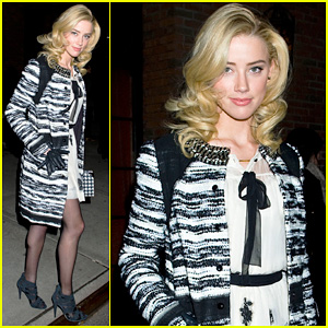 Amber Heard: Night Out in New York!