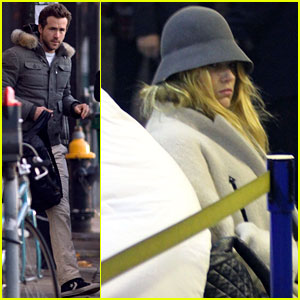Blake Lively Leaves Ryan Reynolds' Boston Apartment