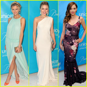 Brooklyn Decker &#038; Kristen Bell: UNICEF Ball!