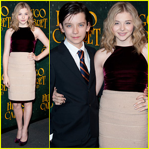 Chloe Moretz: 'Hugo' Paris Premiere with Asa Butterfield!