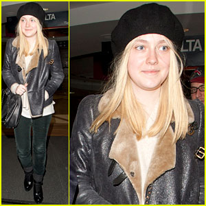 Dakota Fanning: Bye Bye, LA!