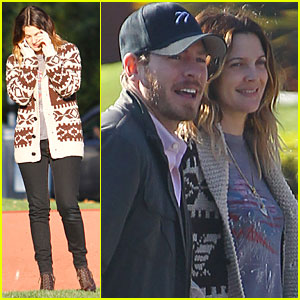 Drew Barrymore & Will Kopelman Run Errands