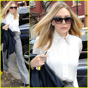 Elizabeth Olsen: 'Live! With Kelly' Interview!