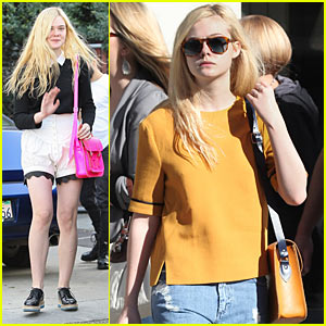 Elle Fanning & Christina Hendricks: 'Bomb' Co-stars?
