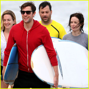 Emily Blunt & John Krasinski: Hawaiian Vacation!