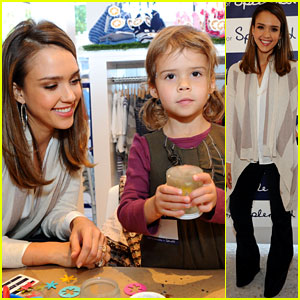 Jessica Alba & Honor: Splendid Sunday!