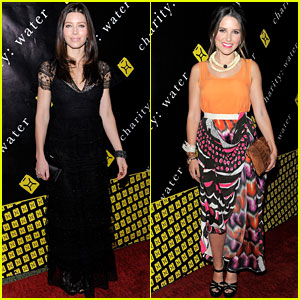 Jessica Biel & Sophia Bush: Charity:Water Women!