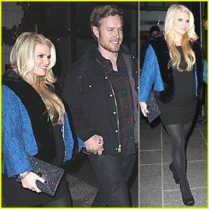 Jessica Simpson & Eric Johnson: Downtown Dinner in NYC