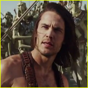 Taylor Kitsch: 'John Carter' Full Trailer!