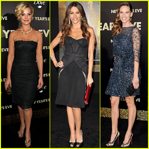Katherine Heigl & Sofia Vergara: 'New Year's Eve' Ladies!