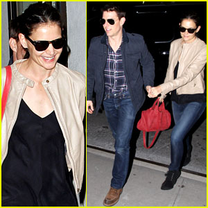 Katie Holmes Celebrates Birthday Weekend with Tom Cruise