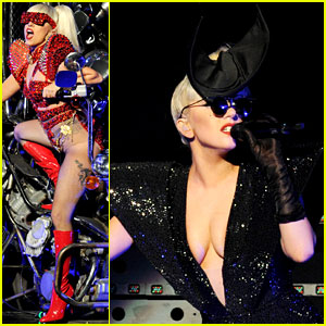 Lady Gaga: Los Angeles Jingle Ball Performer!
