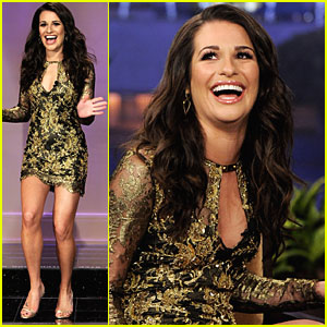 Lea Michele: 'Tonight Show' Interview!