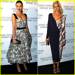 Miranda Kerr & Isabel Lucas: Louis Vuitton Ladies!