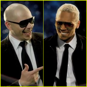 Pitbull & Chris Brown: 'International Love' Video Premiere!