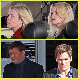 Tom Hardy & Reese Witherspoon: 'War' Workday