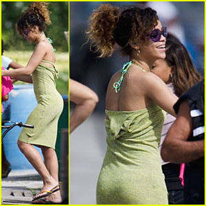 Rihanna: Vacation in Barbados!