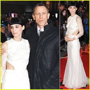 Daniel Craig: 'Dragon Tattoo' Premiere with Rooney Mara!