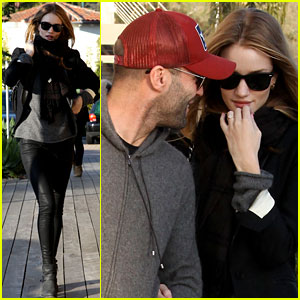 Rosie Huntington-Whiteley &#038; Jason Statham: Malibu Mates!