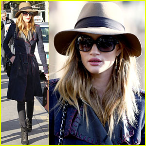 Rosie Huntington-Whiteley: Farewell, Paris!