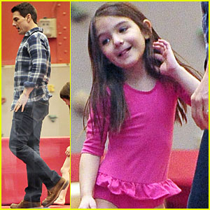 Tom Cruise & Suri: Chelsea Piers Playful