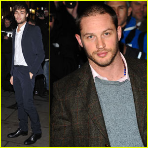 Tom Hardy & Douglas Booth: English National Ballet Party!