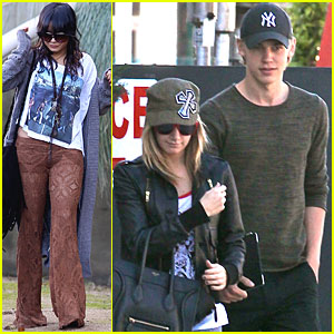 Vanessa Hudgens & Austin Butler: Breakfast with Ashley Tisdale!