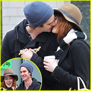 andrew garfield and emma stone cute