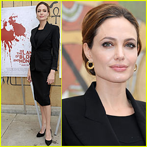 Angelina Jolie: Foreign-Language Nominee Event for Golden Globes!