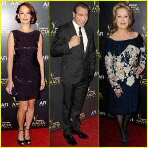 Berenice Bejo & Jean Dujardin: Australian Academy Awards!