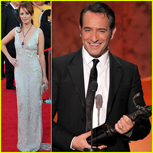 Berenice Bejo & Jean Dujardin - SAG Awards 2012 Red Carpet