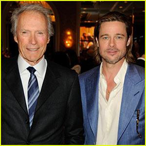 Brad Pitt: AFI Awards with Clint Eastwood!