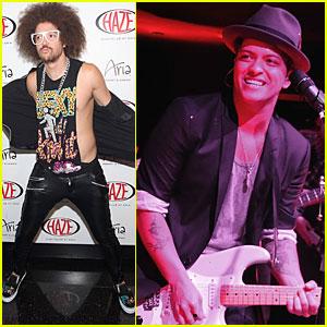 Bruno Mars & LMFAO: Vegas for New Year's!