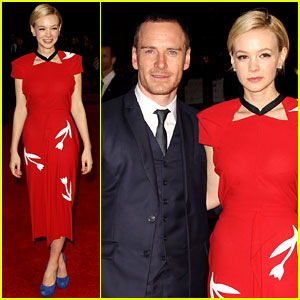 Carey Mulligan & Michael Fassbender: London Critics' Circle Film Awards!