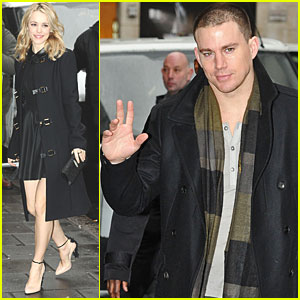 Rachel McAdams &#038; Channing Tatum: BBC Radio 1!